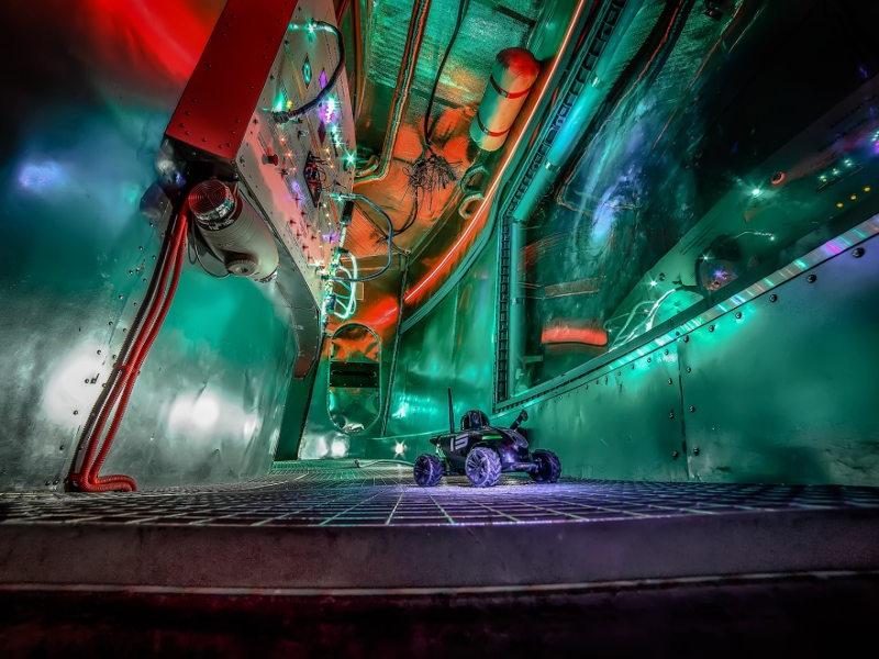 6 тонн оборудования и 1700 метров проводов